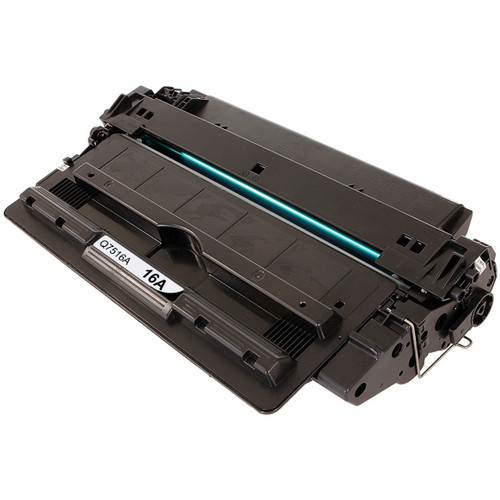 Remanufactured replacement for HP 16A (Q7516A) black laser toner cartridge
