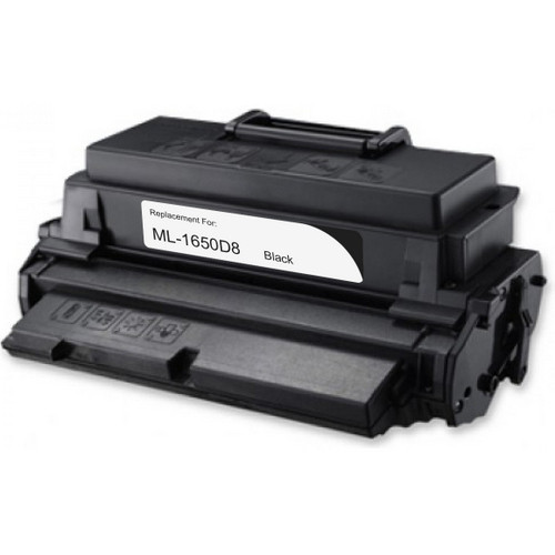 Remanufactured replacement for Samsung ML-1650D8 black laser toner cartridge