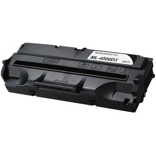 Remanufactured replacement for Samsung ML-4500D3 black laser toner cartridge