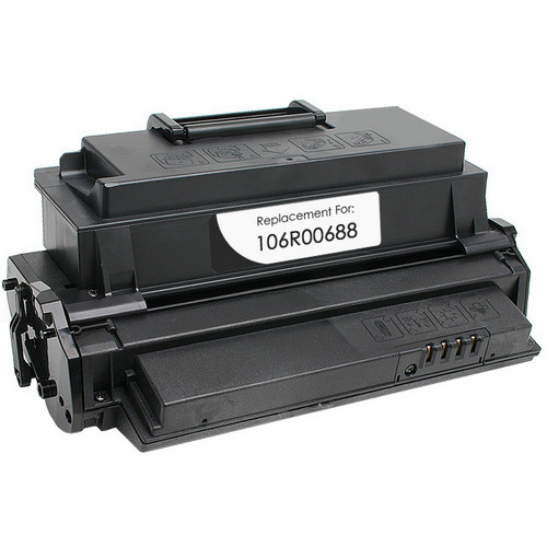 Xerox 106R00688 black laser toner cartridge