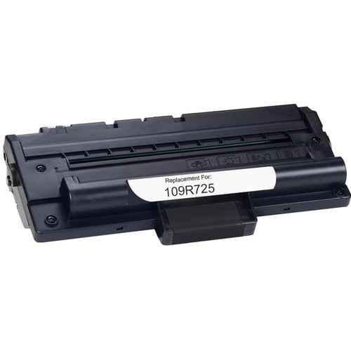Xerox 109R725 black laser toner cartridge