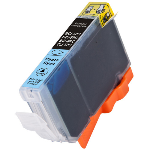 Compatible replacement for Canon Cli-8PC (0624B002) photo cyan ink cartridge