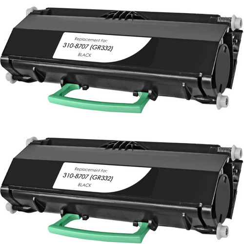 Twin Pack - Compatible replacement for Dell 310-8707 (GR332)