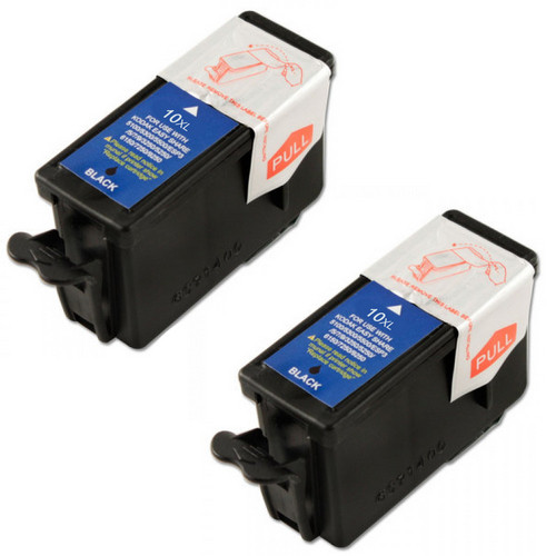 Kodak 10 (1215581) black ink cartridge - 2 Pack