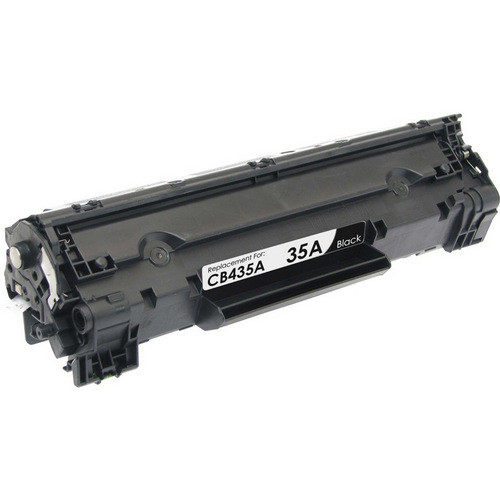 Compatible replacement for HP 35A (CB435A) black laser toner cartridge