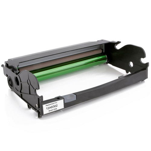 Remanufactured replacement for Lexmark 12A8302 Drum Unit