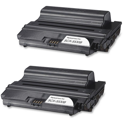 Twin Pack - Compatible replacement for Samsung SCX-5530B black laser toner cartridge