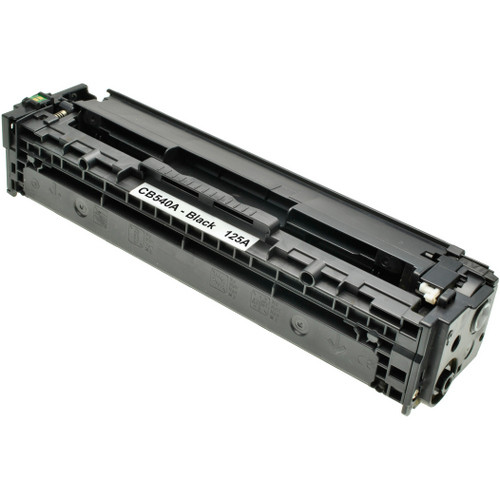 Compatible replacement for HP 125A (CB540A) black laser toner cartridge