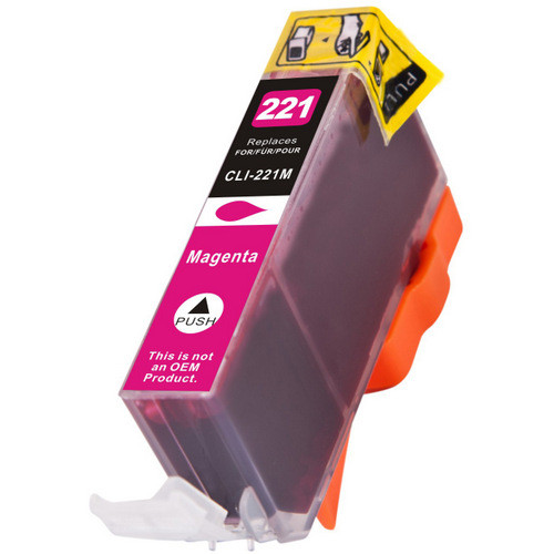 Compatible replacement for Canon Cli-221M (2948B001) magenta ink cartridge