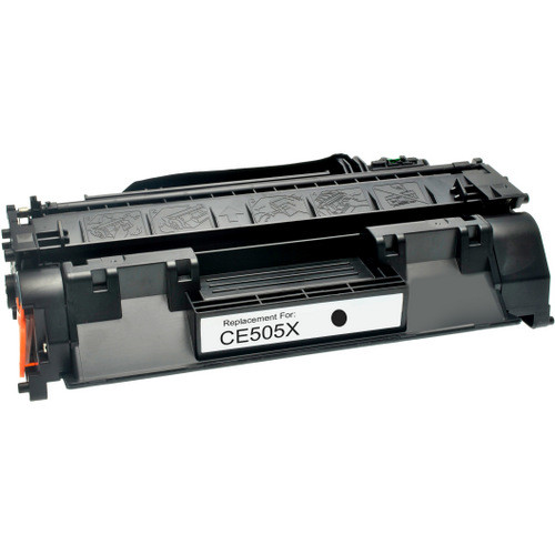 Compatible replacement for HP 05X (CE505X) black laser toner cartridge
