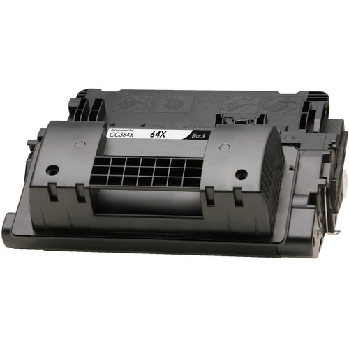 Compatible replacement for HP 64X (CC364X) black laser toner cartridge