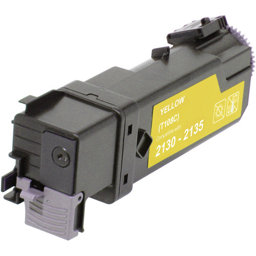 Remanufactured replacement for Dell 330-1438 (T108C) yellow
