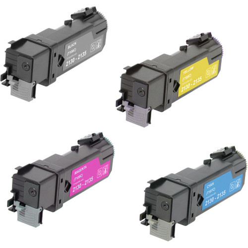 4 Pack - Remanufactured replacement for Dell T106C