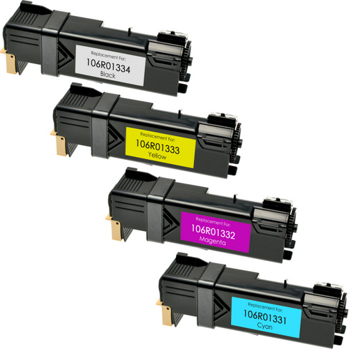 Xerox Phaser 6125 toner cartridge set