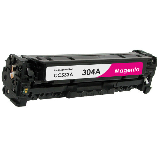 Compatible replacement for HP 304A (CC533A) magenta laser toner cartridge