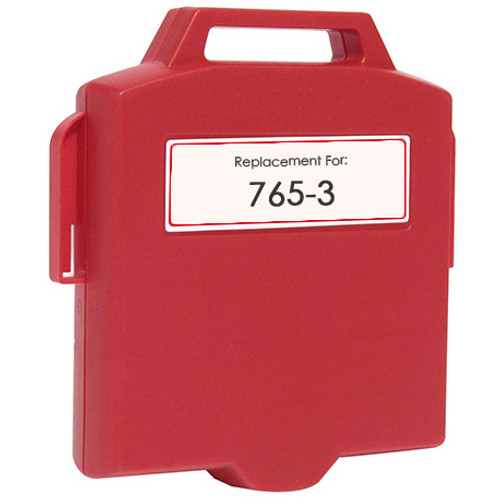 Pitney-Bowes 765-3 red ink cartridge