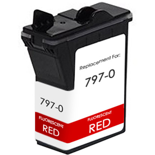 Pitney-Bowes 797-0 red ink cartridge