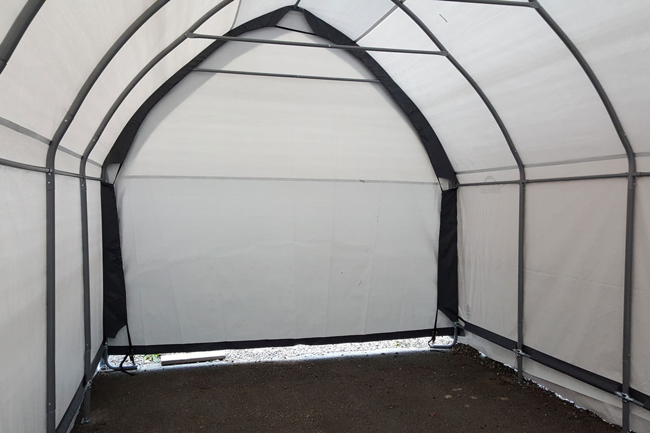 13x20x12 Alpine Style Suv Truck Shelter Grey Shelters Of