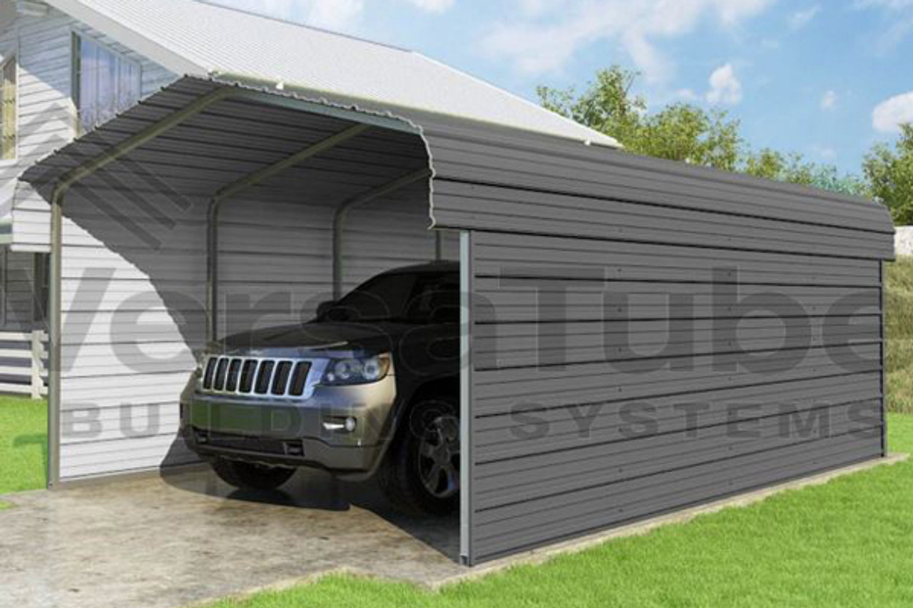 VersaTube Classic Series Carports - Shelters of New England
