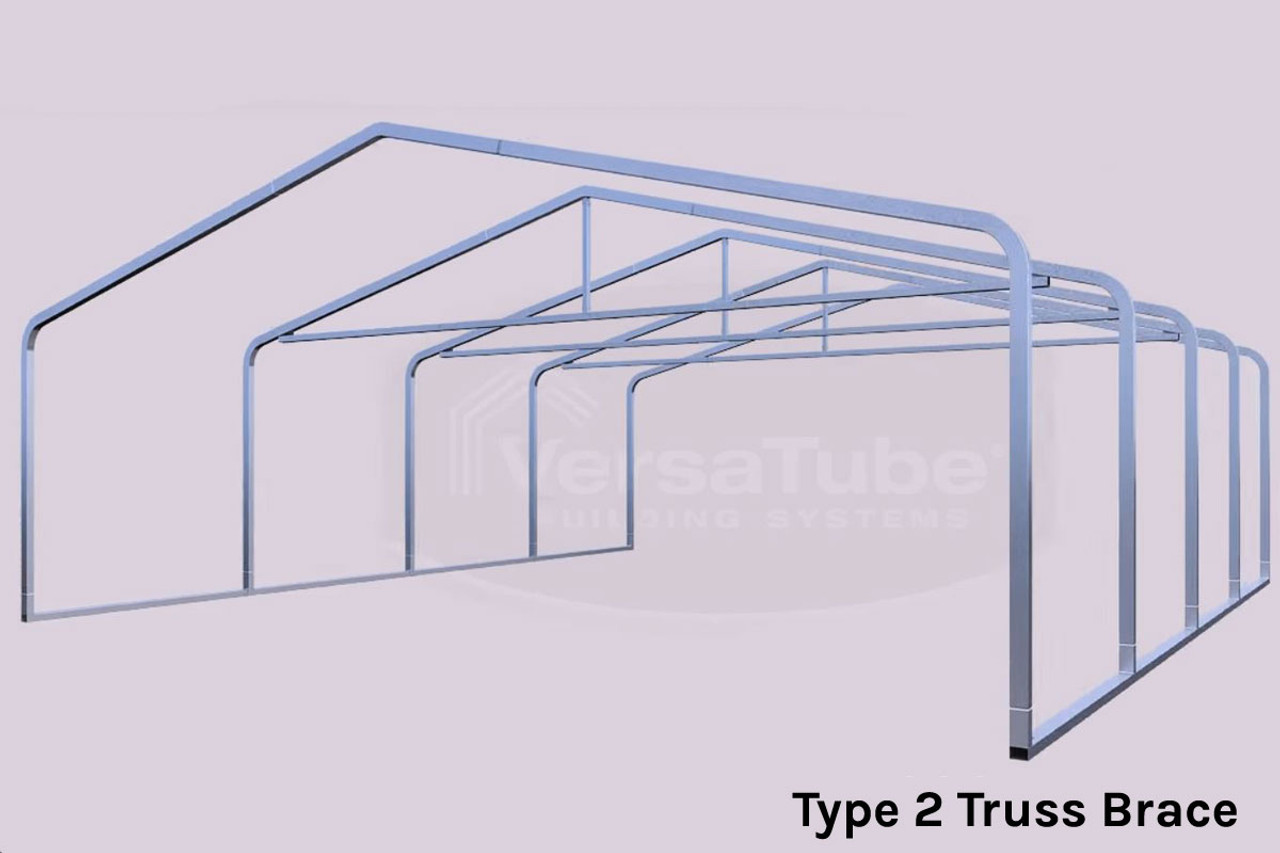 Grand Carport Roof Only - 12x20x7 - FREE SHIPPING - Shelters of New ...