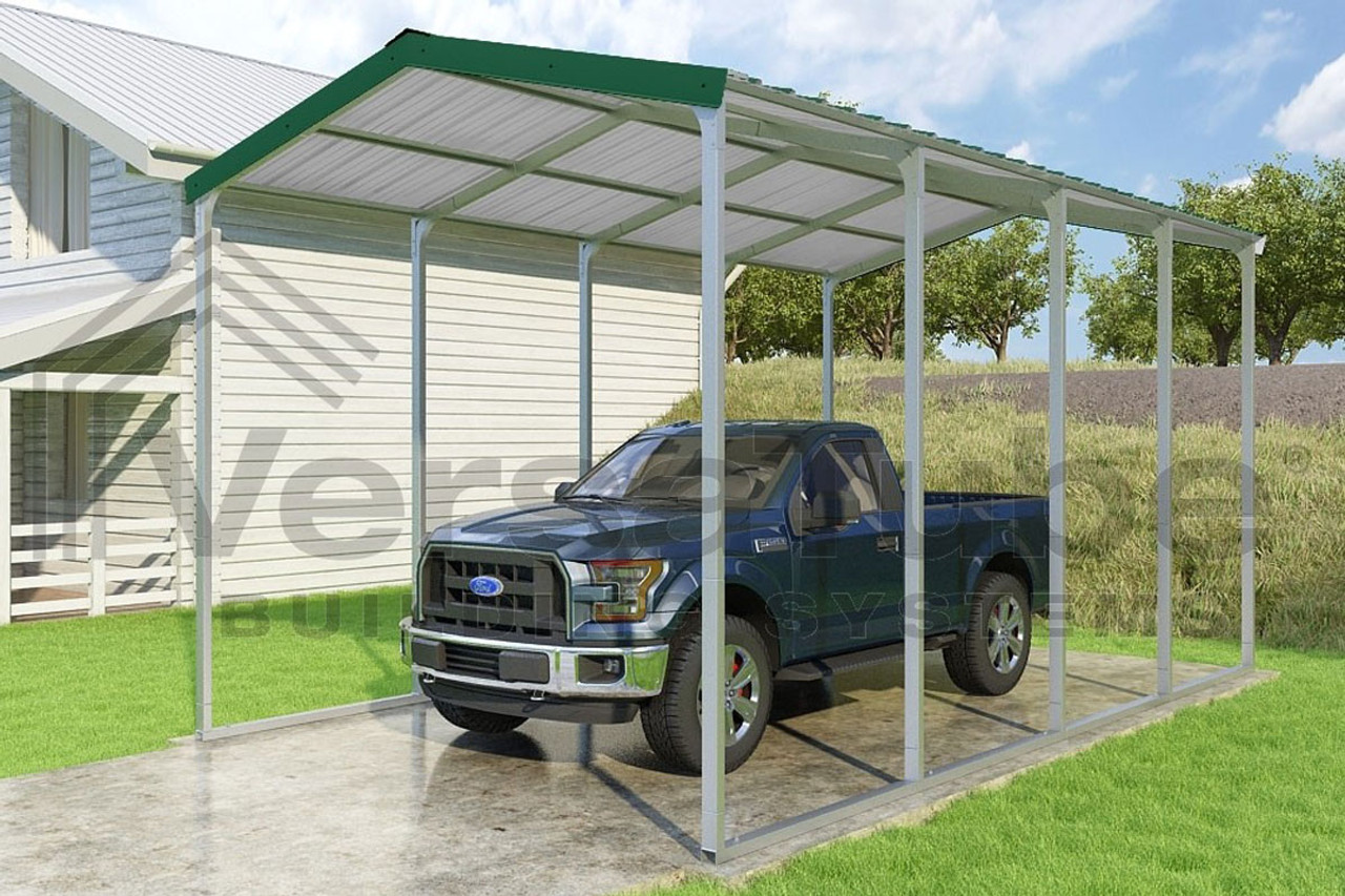 Grand Carport Roof Only 12x20x10 Free Shipping