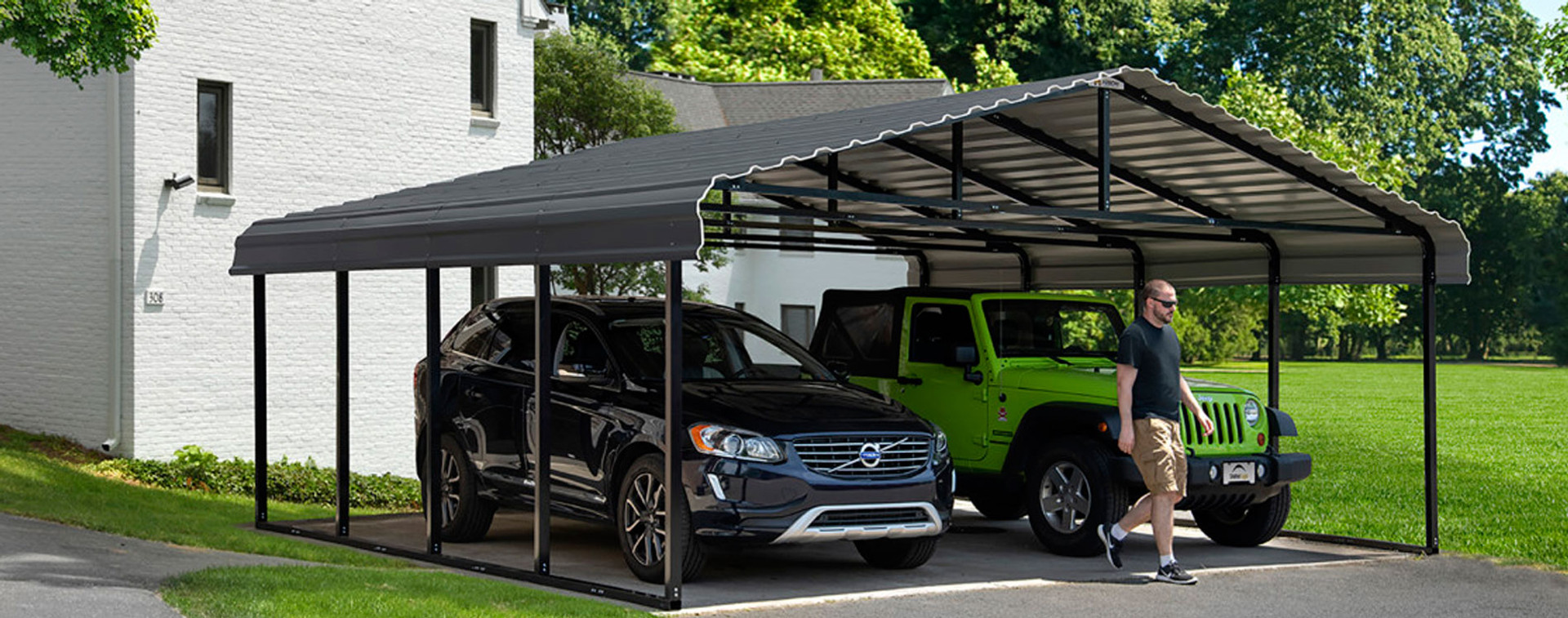 reputable site 3038d 720f6 Shelters of New England, portable garages, carports and ...