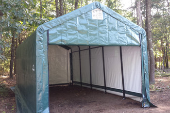 12' Wide x 11' High Peak ShelterTube Wind and Snow rated