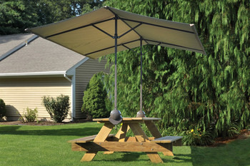 Quick Clamp Canopy, Tilt Mount Desert Bronze