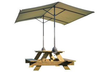 Quick Clamp Canopy, Tilt Mount Desert Bronze - OUT OF STOCK