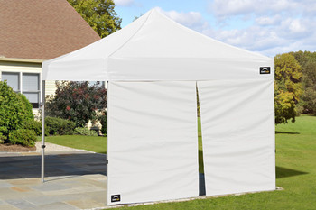 Alumi-Max Pop-Up Canopy Zippered Wall Panel White