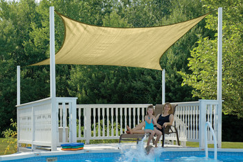 16 ft. Square Shade Sail 230 GSM