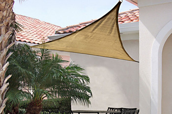 12 ft. Triangle Shade Sail 160 GSM