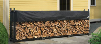 12 ft. Ultra Duty Firewood Rack with Cover