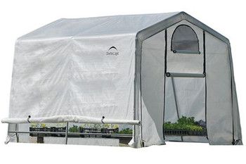 10x10x8 (3) Rib Peak Style Grow It Greenhouse-in-a-Box