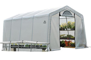 10x20x8 (5) Rib Peak Style Grow It Greenhouse-in-a-Box