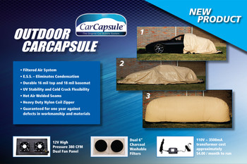 Car Capsule 14' Outdoor