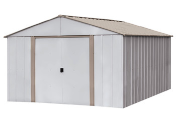 Oakbrook 10' x14' Electro Galvanized Steel - Taupe / Eggshell