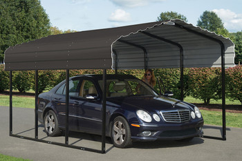 10' Wide x 7' High Arrow Metal Carport (OUT STOCK)