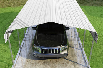 Classic Carport Roof Only - 12x20x7 - FREE SHIPPING