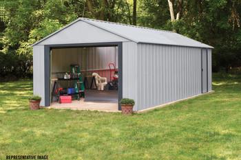 Arrow Murryhill 12' Wide Garage, Steel Storage Building, Prefab Storage Shed