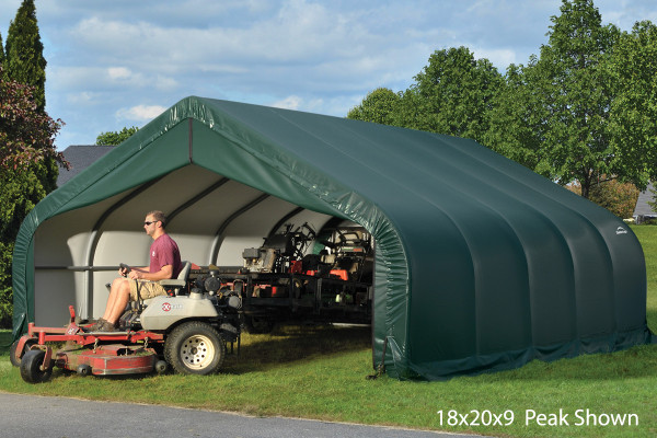 18' Wide x 11' High Peak