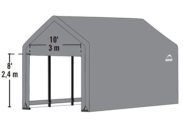 12' Wide x 11' High Peak - ShelterTube