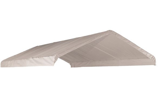 18x20 White Canopy Replacement Cover, Fits 2