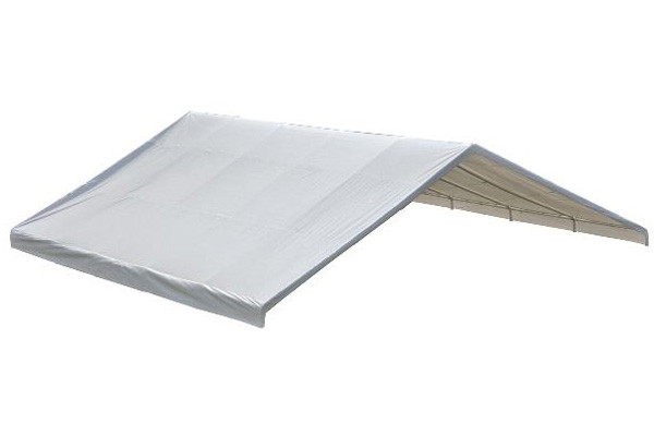 """30x30 White Canopy Replacement FR Rated Cover, Fits 2-3/8"""" Frame"""