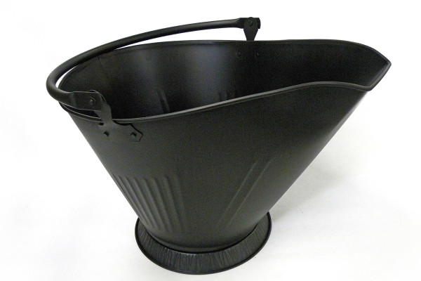Fireplace Coal Hod Black