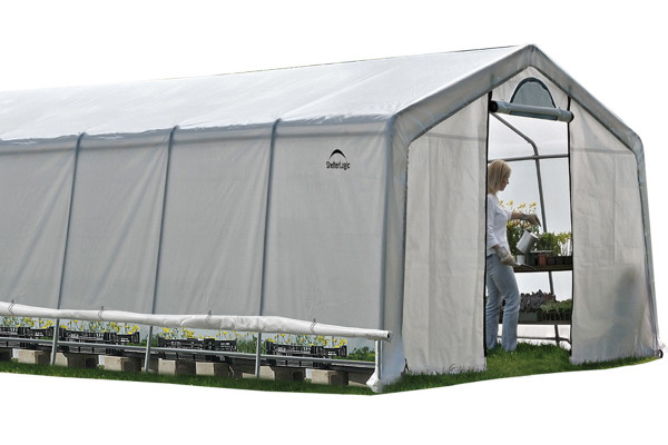 12x20x8 (6) Rib Peak Style Grow It Greenhouse-in-a-Box