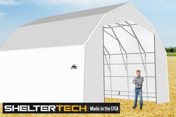 Sheltertech Sp Series 25 Wide Barn Available In Multiple