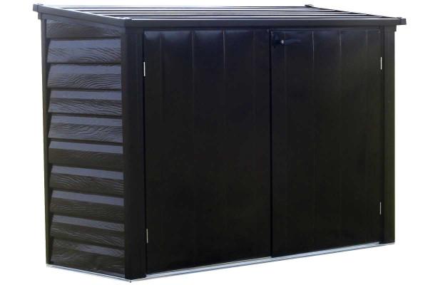 Versa-Shed™, 6x3, Locking Horizontal Storage Shelter, Onyx - OUT OF STOCK