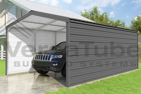 Grand Carport 2-Sided - 12x20x7 - FREE SHIPPING