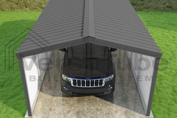 Grand Carport 2-Sided - 12x20x7 - FREE SHIPPING